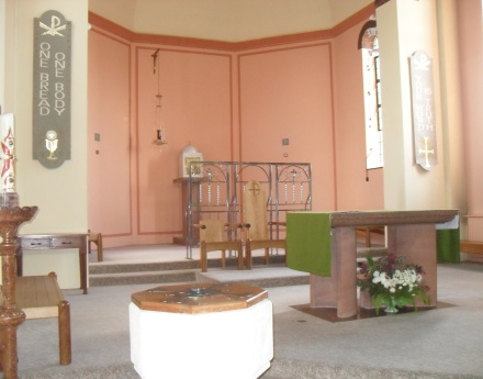 The Sanctuary, Sacred Heart & St Therese Catholic Church, Paignton